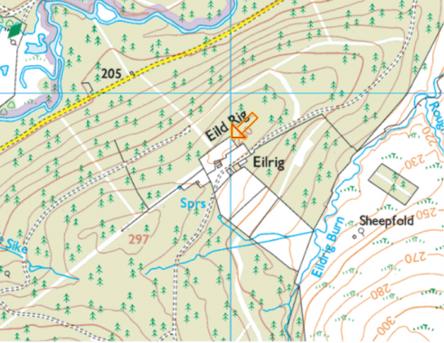 Proposed Location of Eildrig Mast